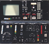 Electron Optical System Control Panel